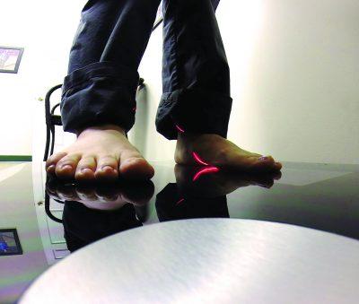 3D foot scan