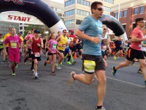 blue ridge marathon runners