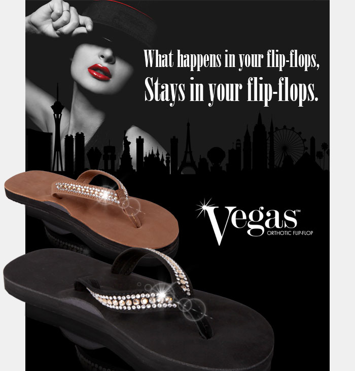 Vegas flip-flops