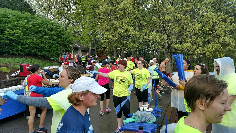 Blue Ridge Marathon volunteers