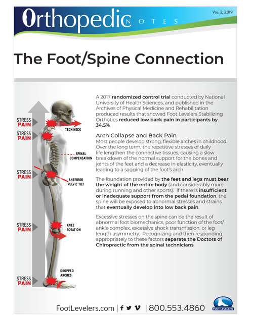 OrthopedicNotes: The Foot/Spine Connection