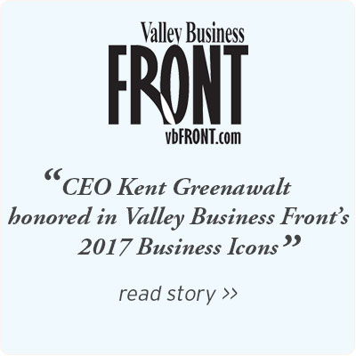 Valley Business Front honors CEO Kent Greenwalt