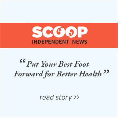 SCOOP - Put your best foot forward for better health