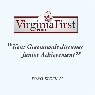 VirginiaFirst - Kent greenawalt chairman and ceo of footlevelers discusses junior achievement