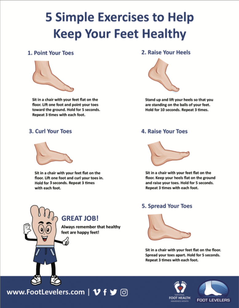 Does your child have foot pain? These exercises may help.