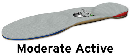moderate active orthotics