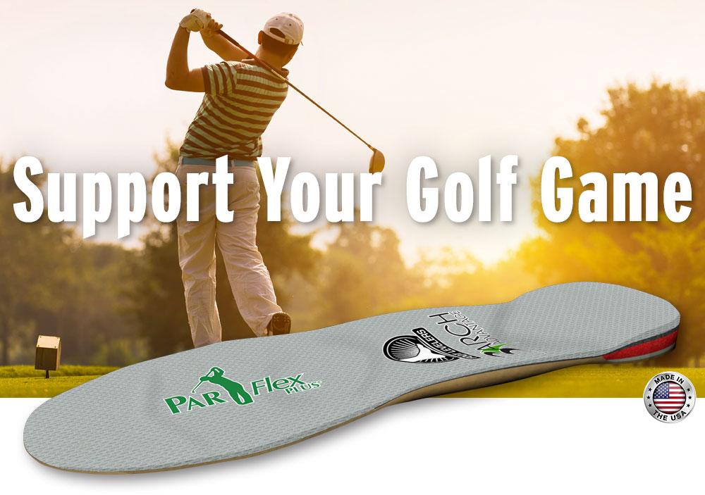 parflex plus golf orthotics