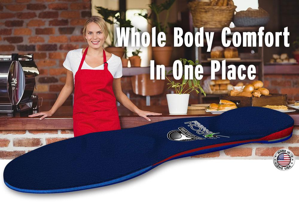 premium comfort orthotics