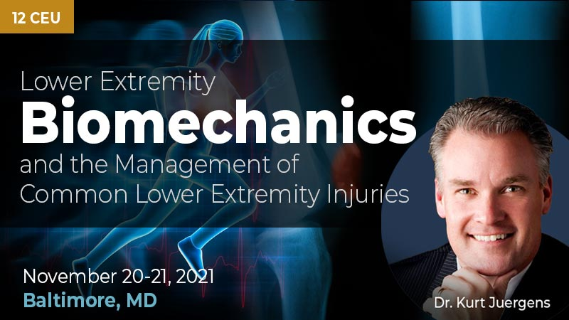 Lower Extremity Biomechanics and the Management of Common Lower Extremity Injuries