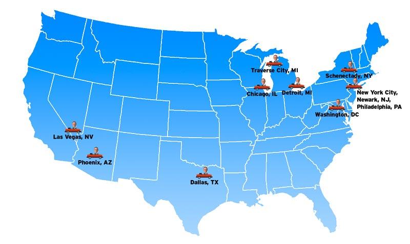 Jacksonville On A Us Map - Charlotte nc on us map