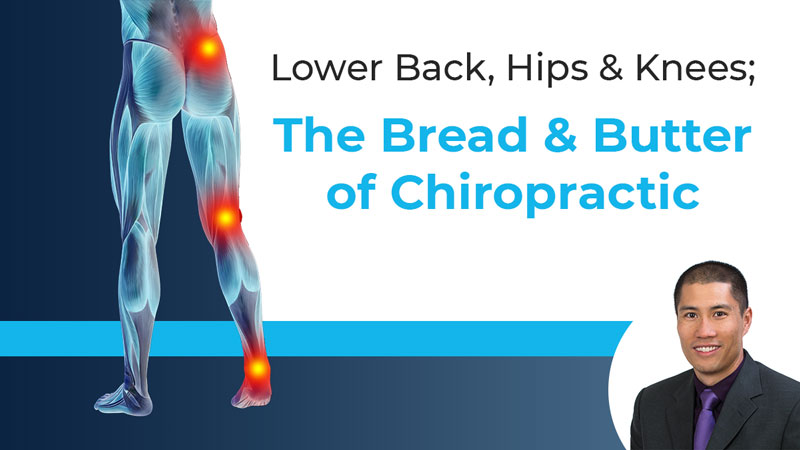 Lower Back, Hips and Knees: The Bread and Butter of Chiropractic