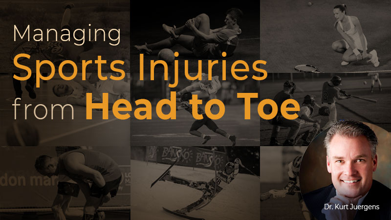 Managing Sports Injuries from Head to Toe